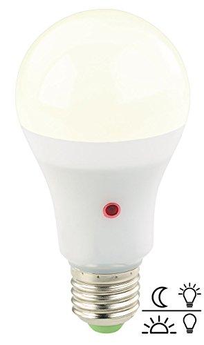 Luminea LED Leuchtmittel: LED-Lampe mit Dämmerungssensor, E27, 12 W, 1.000 lm, warmweiß (LED Leuchte mit Dämmerungssensor)