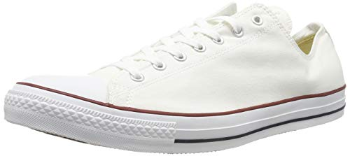 Converse Chuck Taylor All Star, Sneakers Unisex - Adulto, Bianco (Optical White), 43 EU
