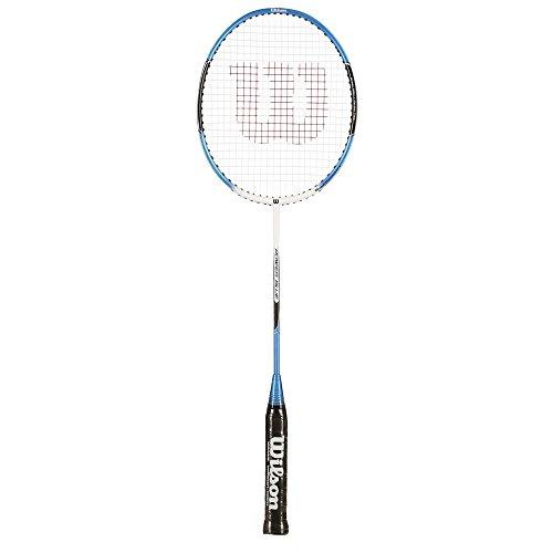 Wilson Badminton Schläger Pro HG, Schwarz/Blau, One size, WRT8019204