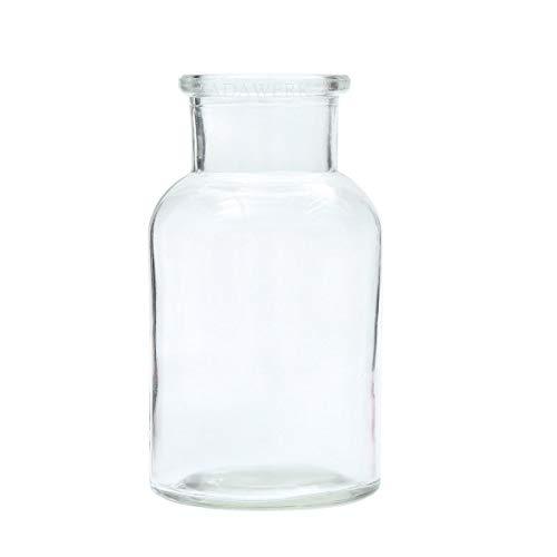 ZADAWERK® Mini Vase - Glas - 12 Stück