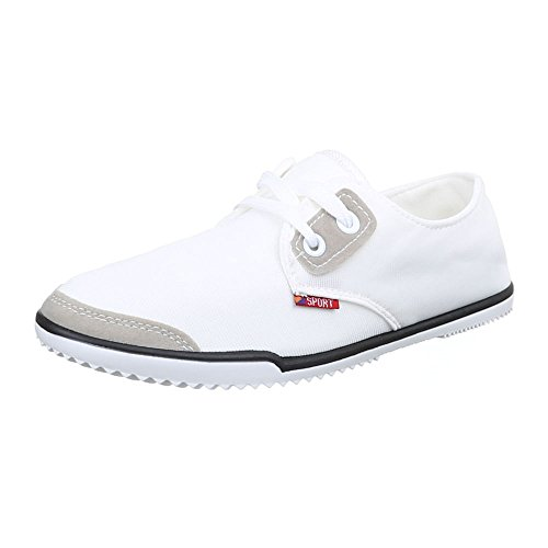 Ital-design Low Chaussures Femme Blanc