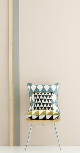 Large Geometry Cushion – Grey - 3
