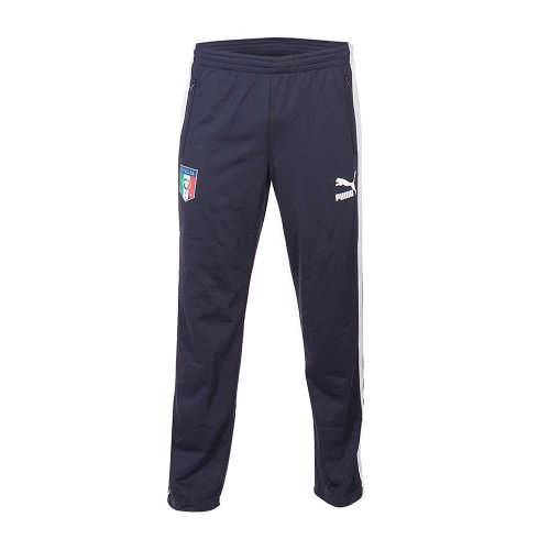 Track Junior Pants Italia team Navy Blue 12/13 Italy Puma 128 CM Navy Blue (Pant Team Track)