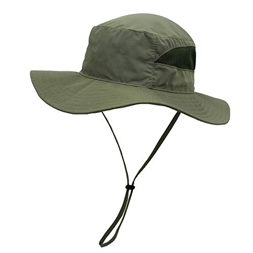 Soft-Edge schnell trocknend Faltbare Fischer Hut UV-Schutz atmungsaktiv leichte Männer und Frauen Mütze Hut Fischerei Hut Großhandel.Momoon Safari-hut Khaki