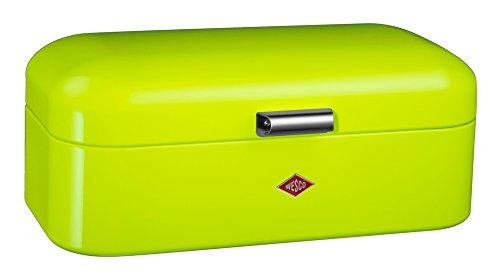 Wesco Grün (Wesco 235201-20 Brotkasten Grandy, 42 x 23 x 17 cm, limegreen)