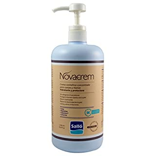 Novacrem: Body and hand moisturizing and protective cream (1L) – Anti-crack non-greasy formula – Cosmetic product