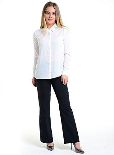 CrayBae -  Maglia a manica lunga  - Basic - Maniche lunghe  - Donna Off white