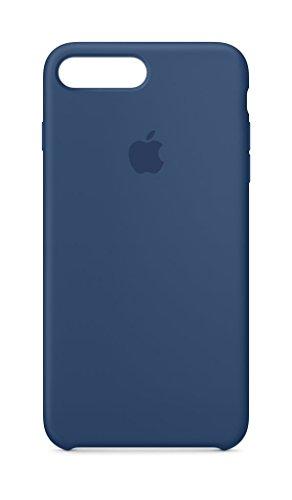 Apple iPhone 8 Plus Silikon Hülle, Kobaltblau