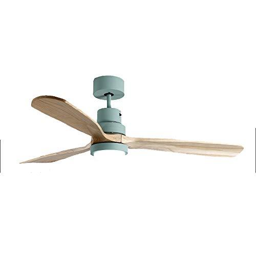 Ventilador de techo ventilador moderno con luz, control remoto, para comedor/dormitorio/sala de...