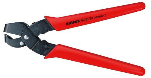 KNIPEX 90 61 16 Ausklinkzange brüniert mit Kunststoff-Hüllen 250 mm