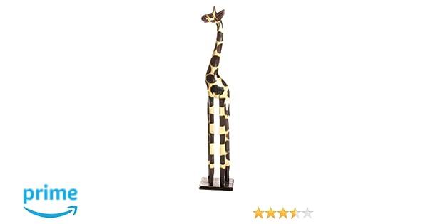 20cm Girafe Giraffe bois artisinal Fair Trade bois naturel