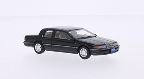 Mercury Cougar LS, nero, 1991, modello di automobile, modello prefabbricato, BoS-Modelos 1:43 Modello esclusivamente Da