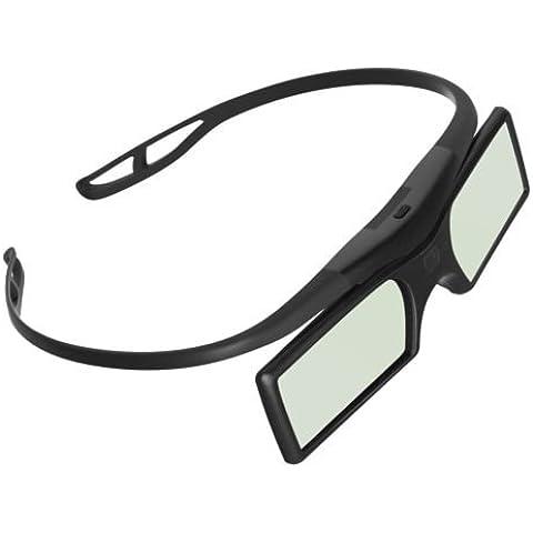 Ultra (TM) activo Shutter3d gafas RF Bluetooth señal 3d gafas de color negro utilizando pilas de botón para todos Mainstram active shutter 3d televisores Samsung Panasonic y Mainstream televisores usando Bluetooth RF