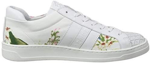 Bikkembergs 850319, Baskets Basses femme Blanc - Blanc