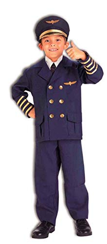 Forum Neuheiten Inc 31167 Airline Pilot Kinderkost-m Gr-e Medium 8-10 (Kids Airline Pilot Kostüm)