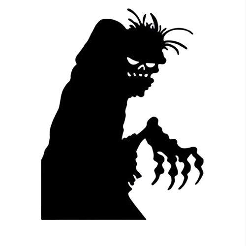 Wuyyii Halloween Decor Wasserdicht Pvc Schwarz Horro Teufel Wandaufkleber Home Decor Requisiten Zubehör Für Wohnzimmer
