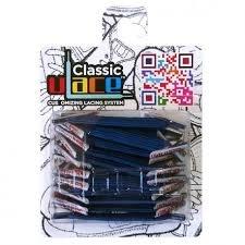 U-LACE - CLASSIC Lacets élastiques multicolores de 7 à 77 ans Adultes Enfants (Light Navy)