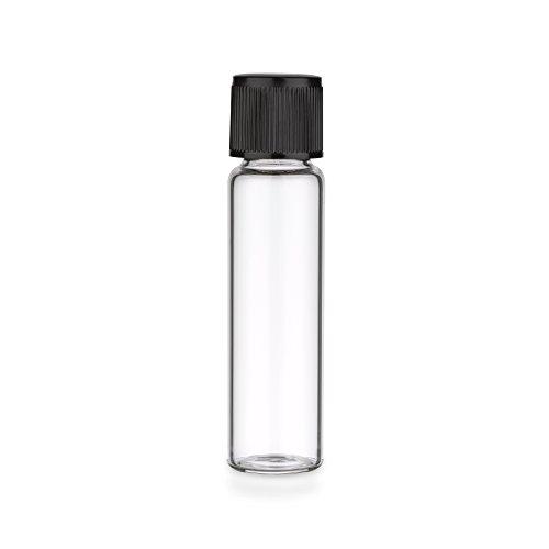 25x Gewindeglas mit Schraubkappe | Flachbodenglas | Reagenzgläser - 12ml (Reagenzgläser Mit Drehverschlüsse)