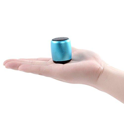 Bluetooth Lautsprecher Mini Beweglicher Drahtloser Lautsprecher mit eingebautem Mikrofon Körper Lauter Sprachauslöser - Bluetooth-lautsprecher Fernauslöser