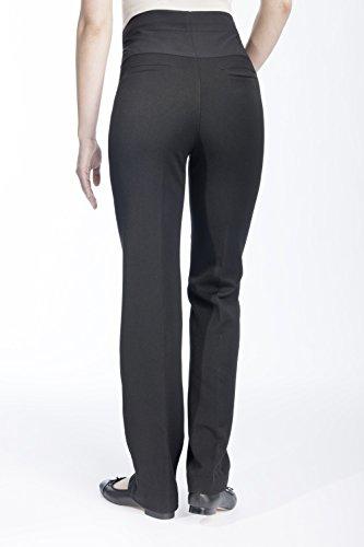 Christoff Pantalon Femmes avec féminine Touche de maternité Pantalons 34 - 54 Noir
