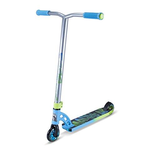 Madd Gear VX7Pro Scooter, Infantil, azul/verde