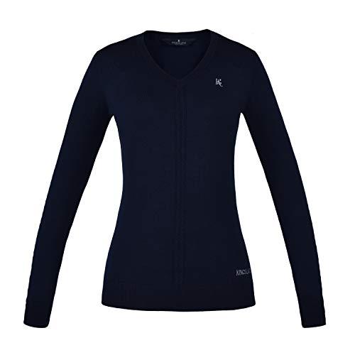 Kingsland Damen Strick-Pullover Melany Farbe Reitbekleidung Navy, Größe XS