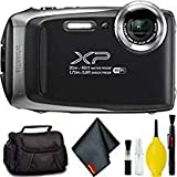 FUJIFILM FinePix XP130 Digital Camera (Silver) Standard Bundle