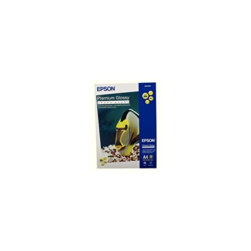 Epson C13S041624 Premium glossy photo paper 225g/m2 A4 50 Blatt(1 Pack) (Epson Glossy Photo Paper)