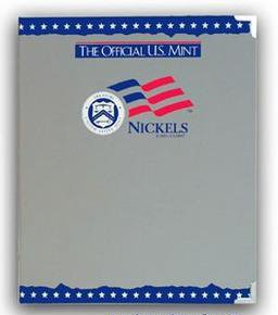 The Official U.S. Mint Nickels Coin Album -