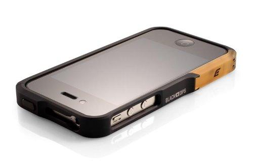 ElementCase Element case Vapor pro Case Bumper für iPhone 4 und 4S in Black OPS Vapor 4 Bumper Case