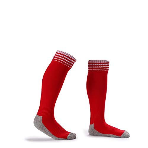 Sport-jugend-socke (Kinder Fußball Socken Kniehohe Rohr Socken Handtuch Bodendruck Fußball Sport Socken Kinder Jugend Fußball Team Socken Kompression Sportlich Socken Für Jungen Mädchen Compression Athletic Socks)