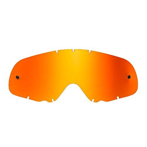 SeeCle 416166 orange ersatzgläser für masken kompatibel mit Oakley Crowbar Maske