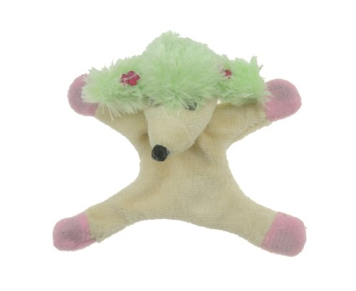 Glamour Girlz 2 - Peluche educativo, Green Poodle
