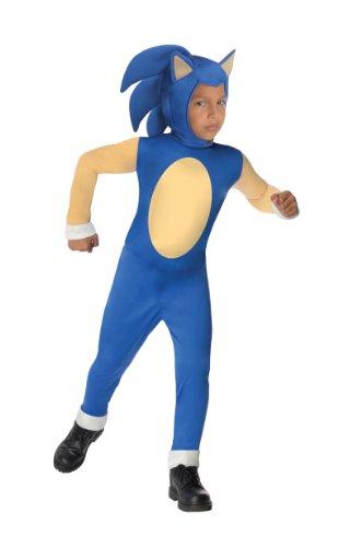 nic The Hedgehog Costume - Small by Rubie's (Sonic The Hedgehog Kostüme Kinder)