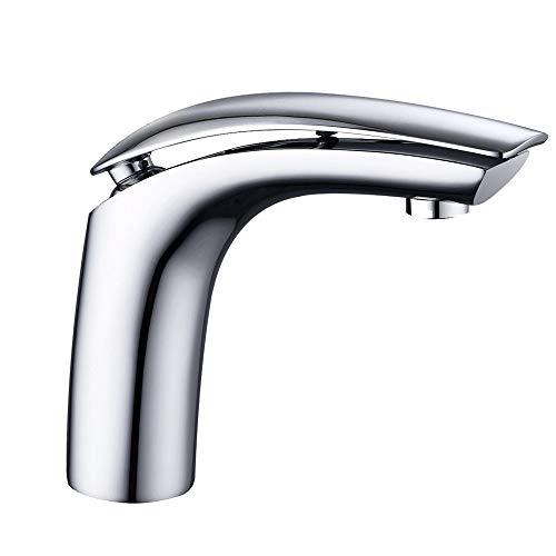 HENGMEI Einhebelmischer Waschtisch-Einhebelmischer Waschbecken Bad Wasserhahn Waschtischarmatur Küchenarmatur (Modell B)