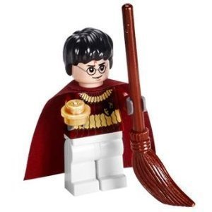 Harry Potter Quidditch Gear with Golden Snitch - LEGO