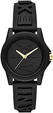 Armani Exchange Ladies Wrist Watch, Black