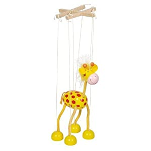 Goki Marionette Giraffe by GoKi