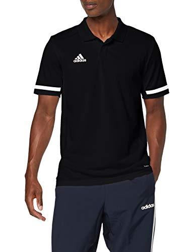 adidas Herren T19 M Polo Shirt, Black/White, 2XL -