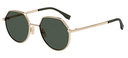 Fendi Sonnenbrillen AROUND FF M0029/S GOLD/GREEN Herrenbrillen
