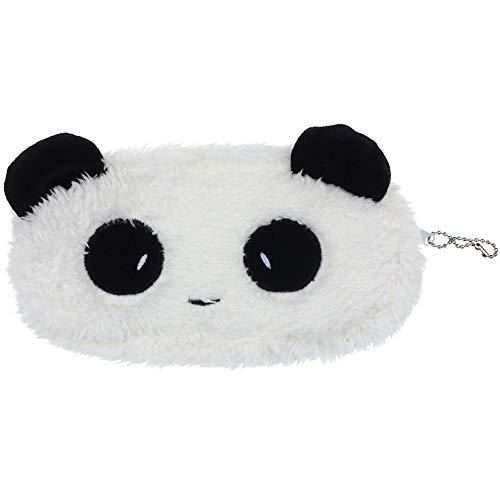 KIDDYBO - Astuccio morbidissimo in peluche per penne / pennarelli / matite / make-up, borsa da viaggio, per bambini panda