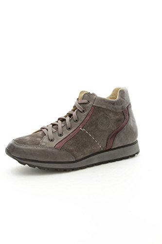 Lion 10659 Sneakers Uomo Camoscio/Pelle Grigio Grigio 41