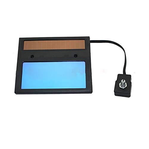 Automatisch verdunkelndes Schweißglas für Helme, Zubehör, verstellbarer Filter, Sonnenenergie, automatische Verdunkelung, LCD-Display Super Helle Lcd-display