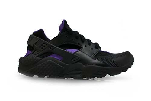 Nike Donna Air Huarache addestratori 634835 scarpe da tennis (uk 4 Us 6.5 Eu 37,5, Nero Antracite Hy