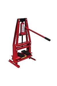 VidaXL 140207 Presse hydraulique d'atelier sur pied 6 tonnes