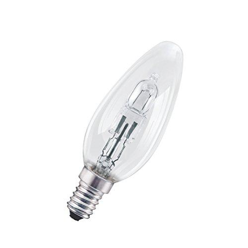 Osram Halogen-Lampe, Classic B, E14-Sockel, Dimmbar, 30 Watt - Ersatz für 40 Watt, Warmweiß - 2700K, 10er-Pack - 3