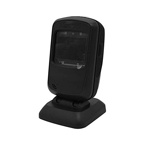 Barcode-Bildleser USB Automatische Freihand-Barcode-Scanner Zahlung Supermarkt Bibliothek Einzelhandel Store Warehouse schwarz