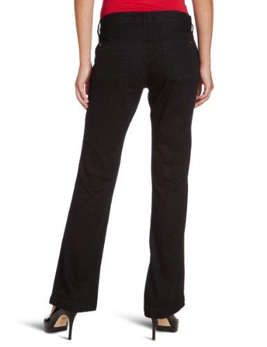 Eddie Bauer Jeans pour femmes bas taille haute, 23117093 Noir (noir)