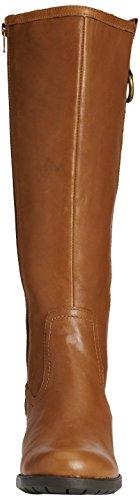 Hush Puppies Emel Overton, Stivali al ginocchio foderati a freddo donna Marrone (Brown (Tan Leather))