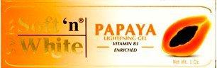 Soft'n White PAPAYA Lightening Gel Vitamin B3 30g (Papaya-gelee)